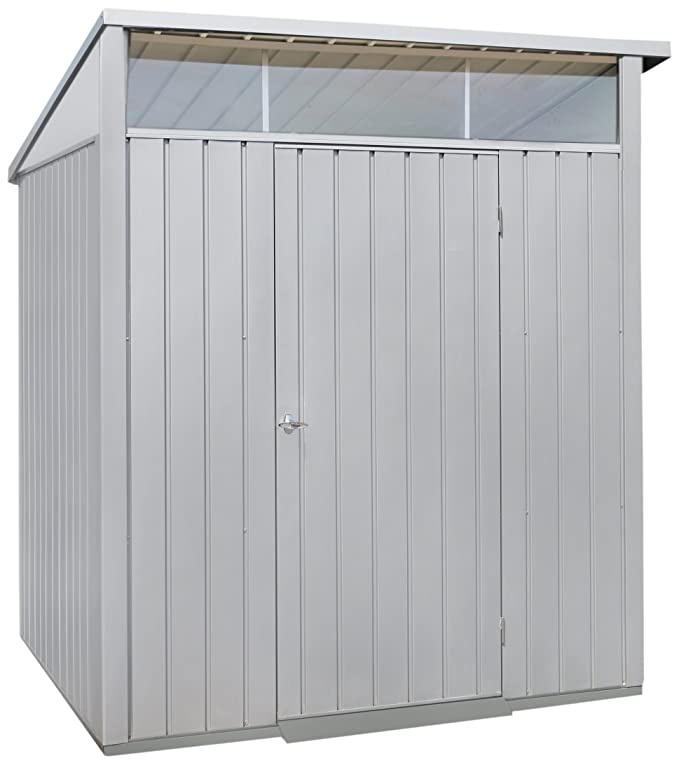 Amazon.com : Duramax Building Products 6 ft. x 5 ft. Palladium Premier Metal Shed : Garden & Outdoor