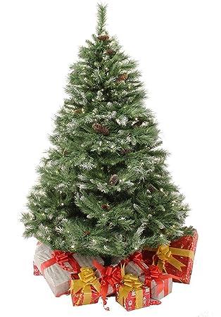 7Ft Pre-Lit Christmas Tree Scandinavian Blue Spruce: Amazon.co.uk ...
