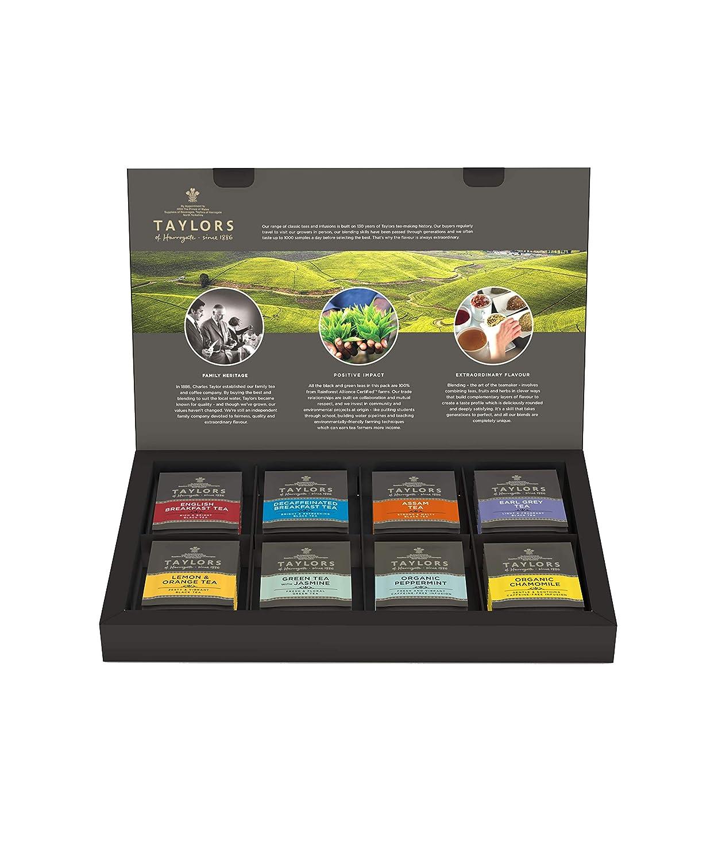 Taylors of Harrogate Classic Tea Variety Box, 48 Count (Pack of 1) : Grocery Tea Sampler : Grocery & Gourmet Food