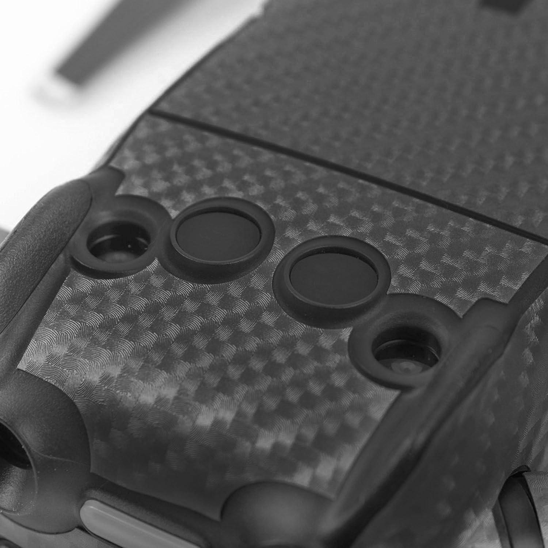 O/'woda DJI Mavic AIR Drone Body /& Controller Stickers Waterproof 3M Carbon Grain Decals Anti-Scratch Protective Skin Silver