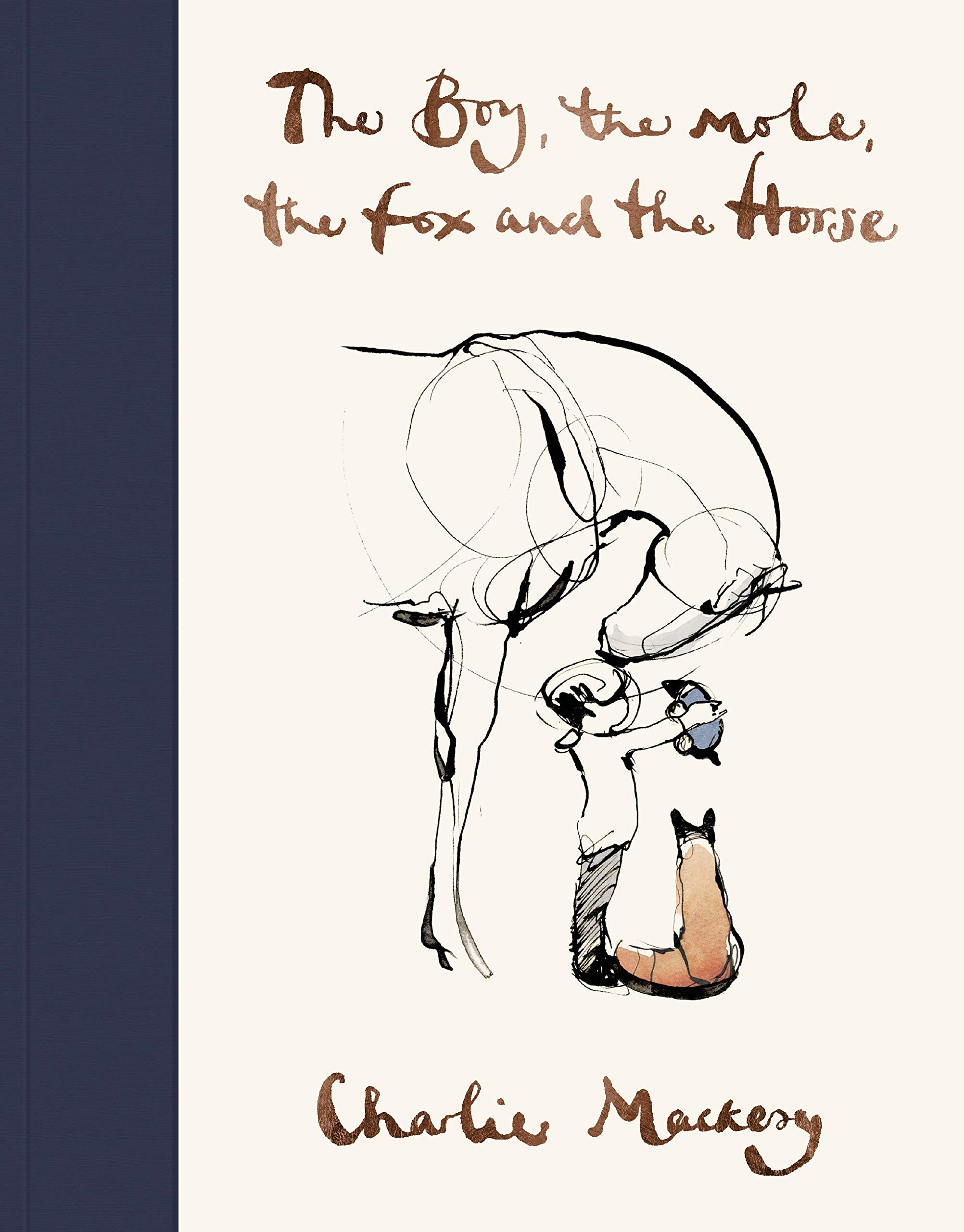 The Boy, The Mole, The Fox and The Horse: Amazon.co.uk: Charlie ...