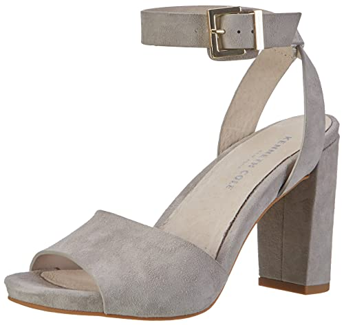 Kenneth Cole Toren, Atado Al Tobillo para Mujer, Gris (Light Grey 050), 38 EU
