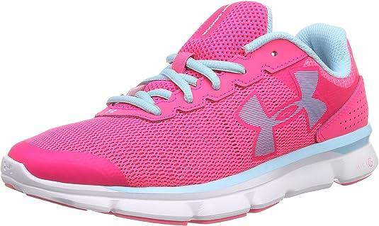 Under Armour UA W Micro G Speed Swift - Zapatillas de running Mujer, color negro blk/wht/wht 1, talla 365 EU: Amazon.es: Zapatos y complementos