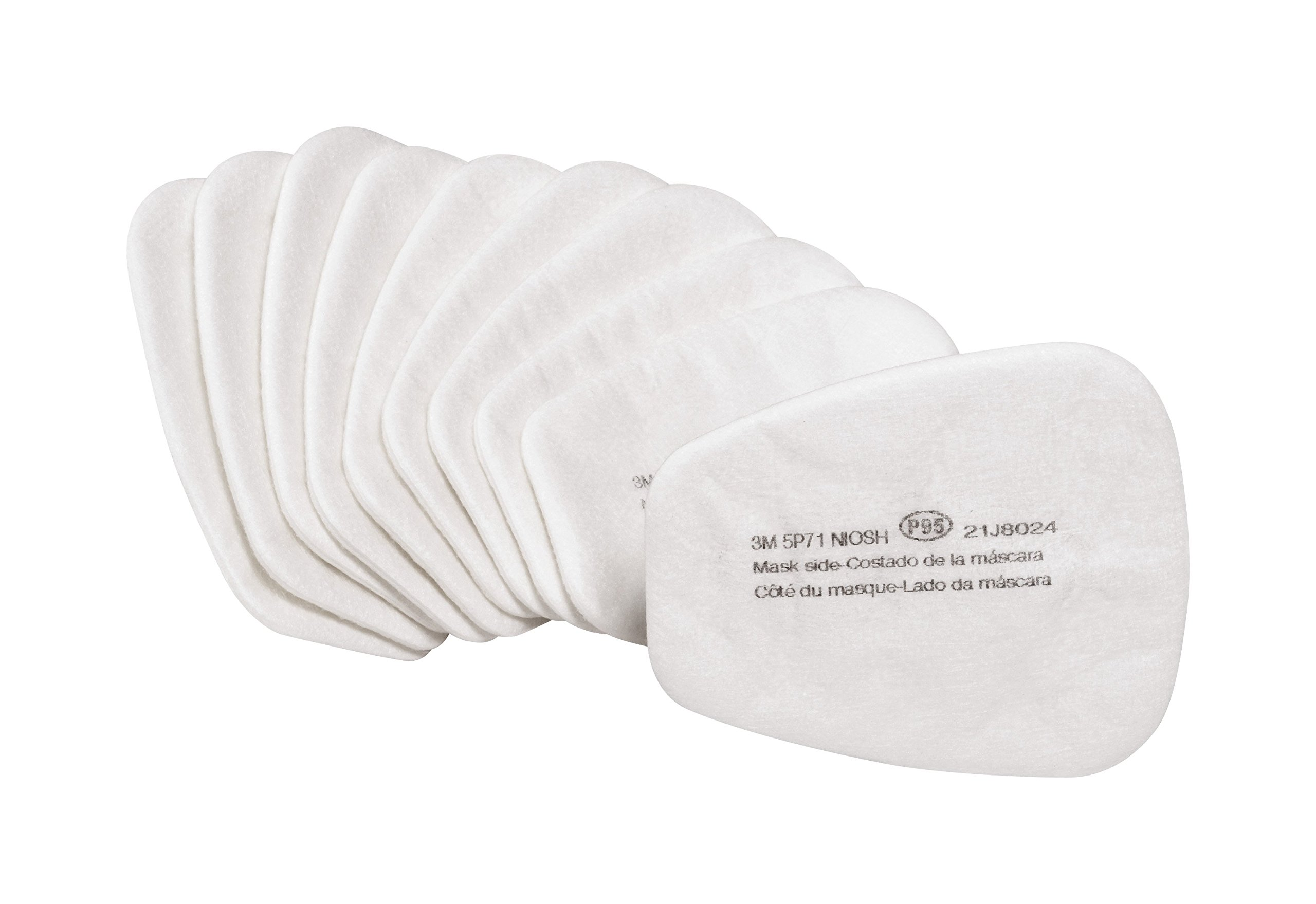 3Maa7|#3M 5P71PB1-B Particulate Prefilters, 10/ Pack, 5 Packper Case, by 3M Safety (Image #1)