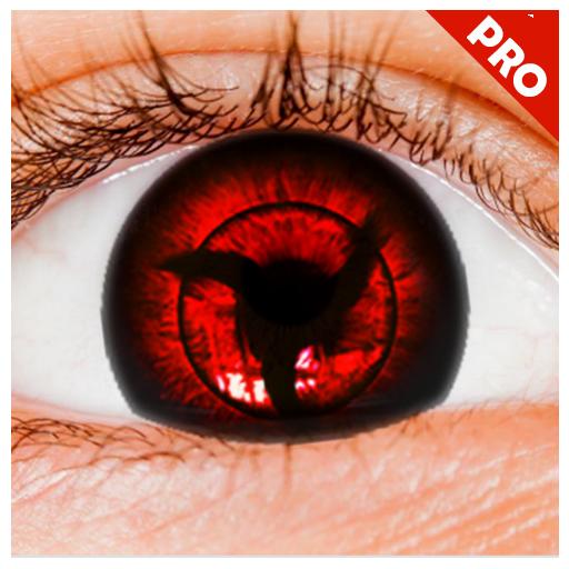 (Real Sharingan Uchiha Eye Camera)