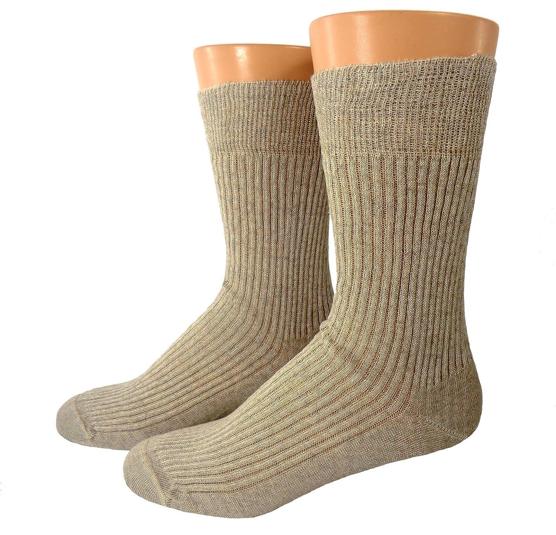 Shimasocks Herren Bio Socken Leinen