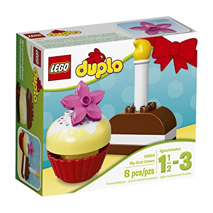Amazon LEGO Duplo My First Cakes 10850 Building Kit Toys Games