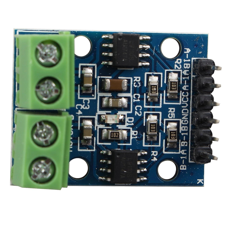HALJIA L9110S Dual-Channel H-Bridge Stepper Motor Dual DC Motor Treiber Controller Board Modul kompatibel mit Arduino