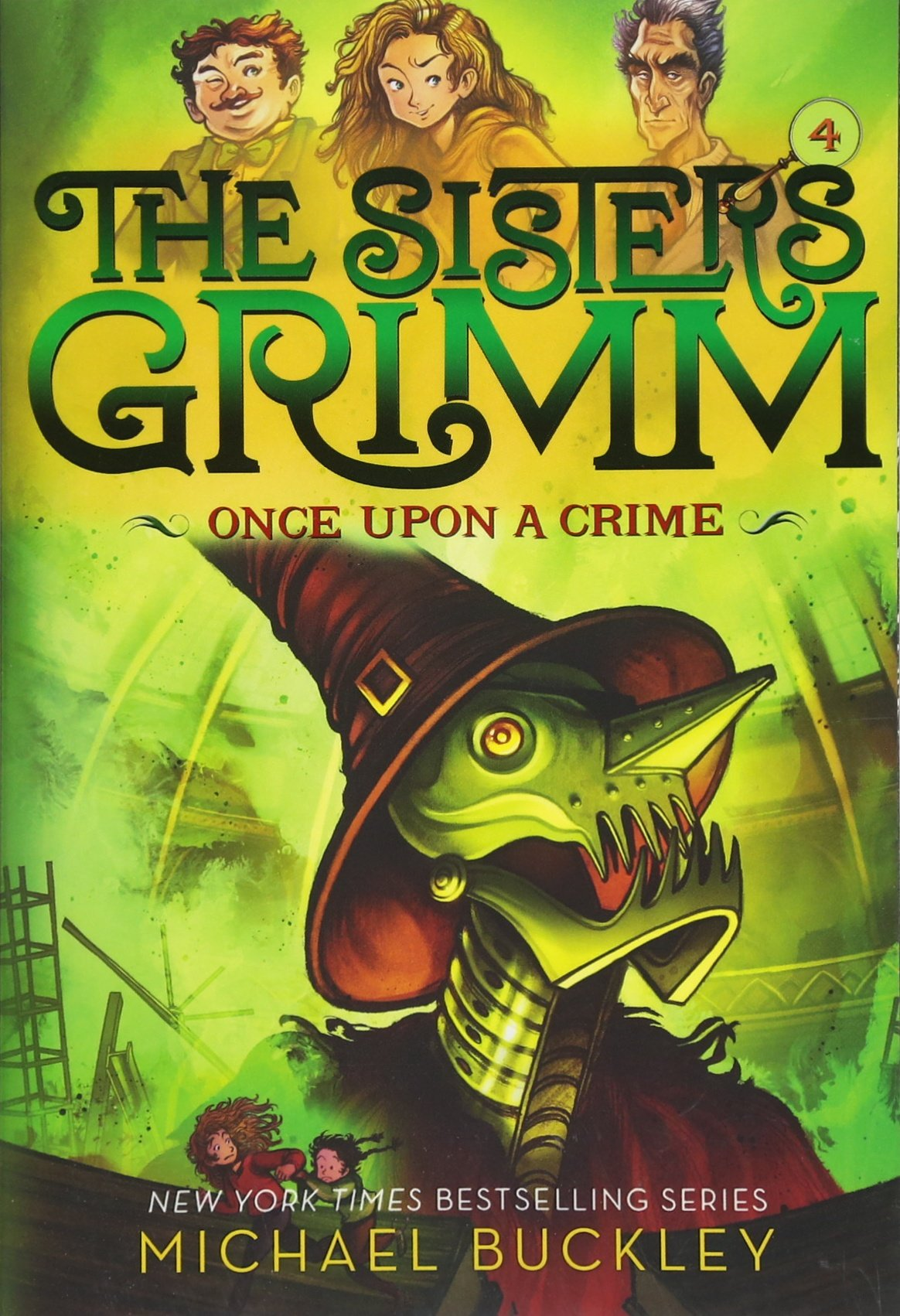 Download Once Upon a Crime (The Sisters Grimm #4): 10th Anniversary Edition (Sisters Grimm, The) pdf epub
