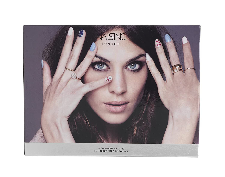 Nails Inc Alexa Hearts Collection Amazoncouk Beauty