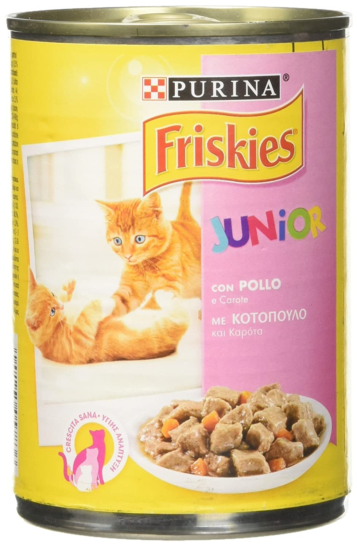 Friskies Gato BOCC. Lat Junior po-ca, 400 gr, 1 Unidad ...