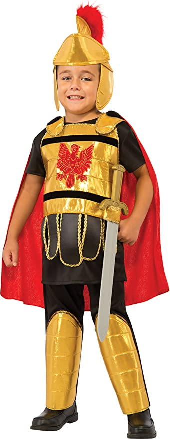 Rubie's Kid's Deluxe Gladiator Costume, Medium
