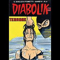 DIABOLIK (54): Terrore (Italian Edition)