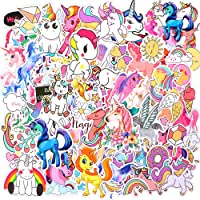 Unicorn Stickers, Waterproof Vinyl Stickers Pack for Laptop Water Bottle Party Favors Supplies