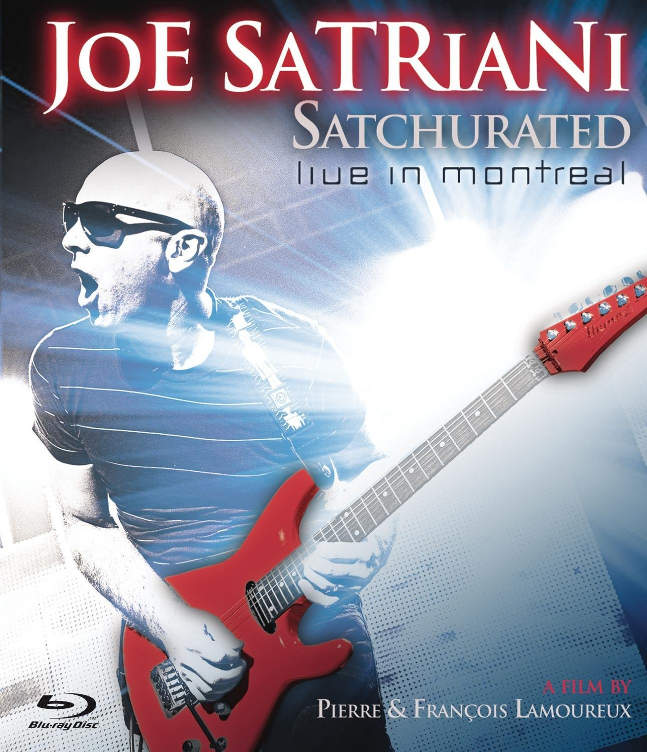 Blu-ray : Joe Satriani - Satchurated: Live in Montreal (Blu-ray)