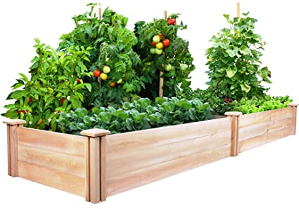 Greenes Fence 2 Ft. X 8 Ft. X 10.5 In Raised Garden Kit,