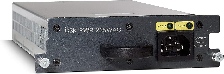 - AC 100-240 V Cisco C3K-PWR-265WAC= Power supply hot-plug 3560E-48 3750E-48 for Catalyst 3560E-12 3750E-24 plug-in module 3560E-24 265 Watt