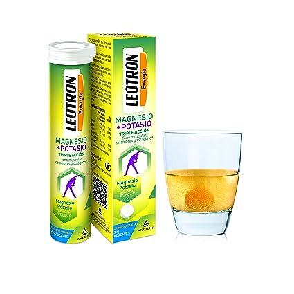 Leotron Magnesio + Potasio - 15 comprimidos: Amazon.es: Salud y ...