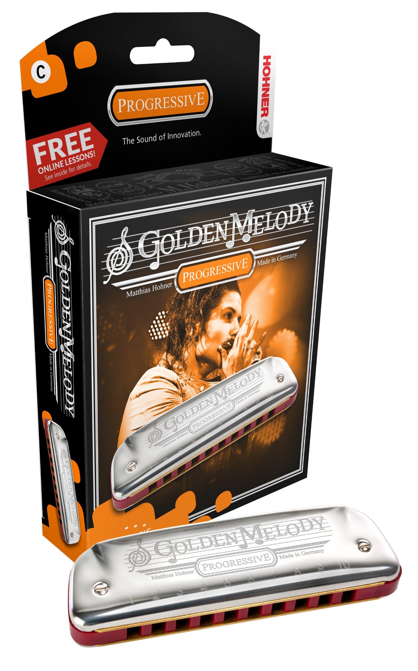 Hohner Golden Melody Harmonica, A