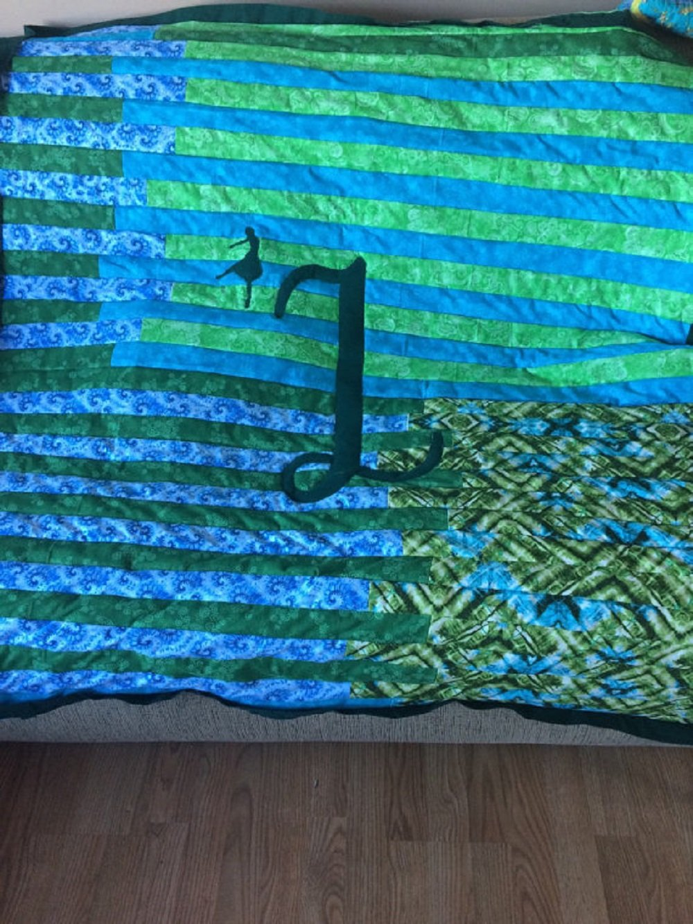 Image of Home and Kitchen Custom Monogrammed quilt