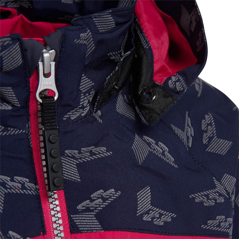 LEGO Wear Kids Woven Fleece Zip Up Detachable Hood Jacket