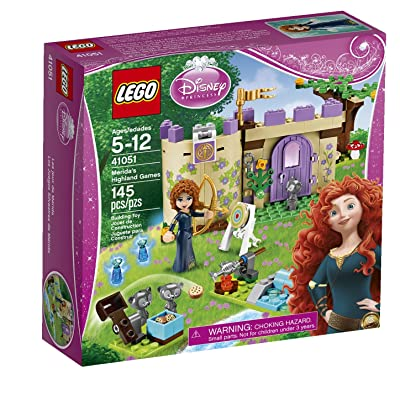 LEGO Disney Princess 41051 Merida's Highland Games: Toys & Games