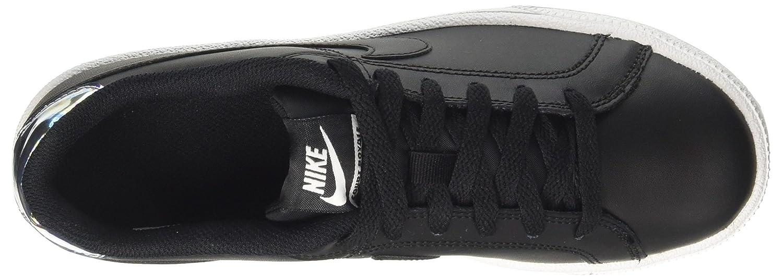 Nike Bone Damen Court Royale Gymnastikschuhe, Weiß/Light Bone Nike Schwarz (schwarz/Metallic Silver 003) dd89b1