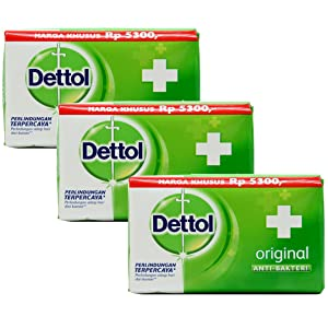 Dettol Soap, 2.5oz (Pack of 3)