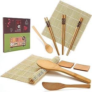 Sushi making kit IOOLEEM (Bamboo set)