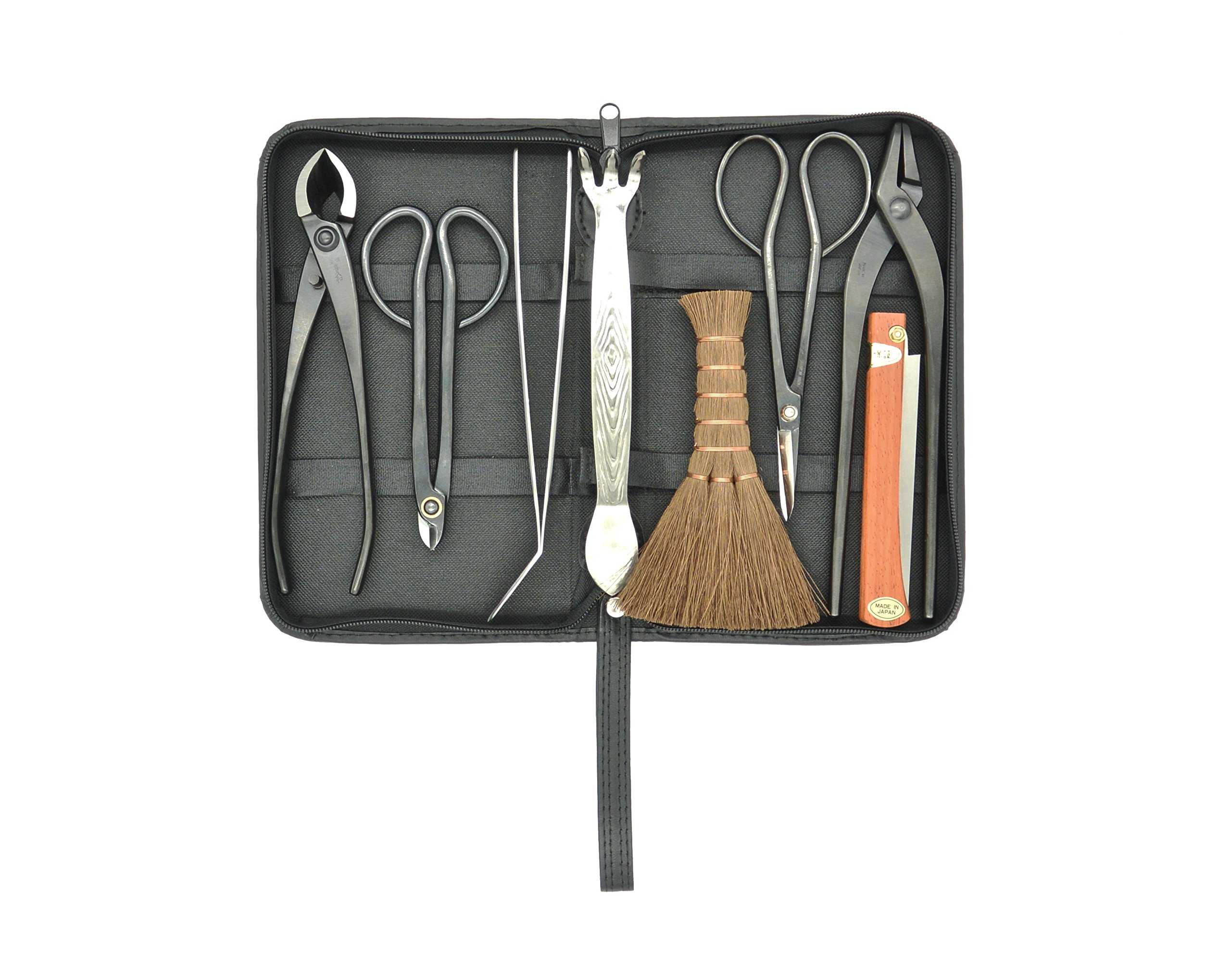 Bonsai tool kit 8 pcs