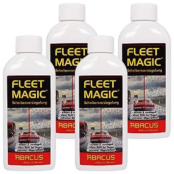Fleet Magic Juego de 4 - Deflectores de la Limpiaparabrisas Invisible ...