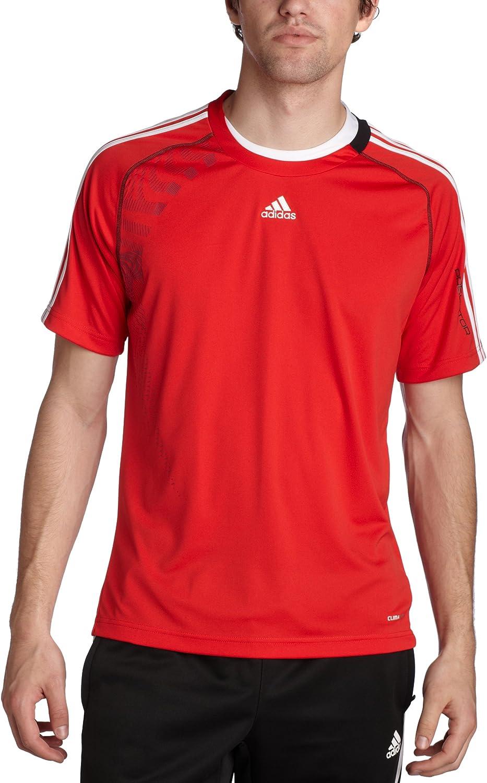 adidas Predator – Camiseta de Estilo 2010 Climalite Jersey, Hombre, D, Predator Red/White/Black: Amazon.es: Ropa y accesorios