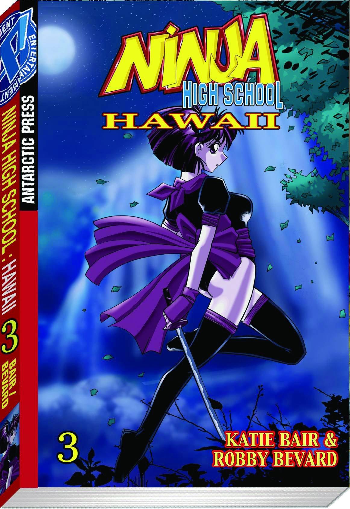 Amazon.com: Ninja High School Hawaii Pocket Manga Volume 3 ...