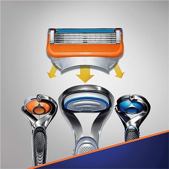 Gillette Fusion5 Cuchillas de afeitar para hombres, 14 unidades ...