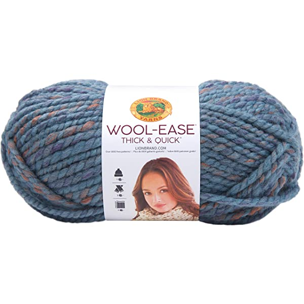 Succulent Lion Brand Yarn 640-116 Wool-Ease Thick /& Quick Yarn