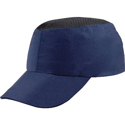 Delta plus - Gorra antigolpe poliamida casco interior polietileno azul marino
