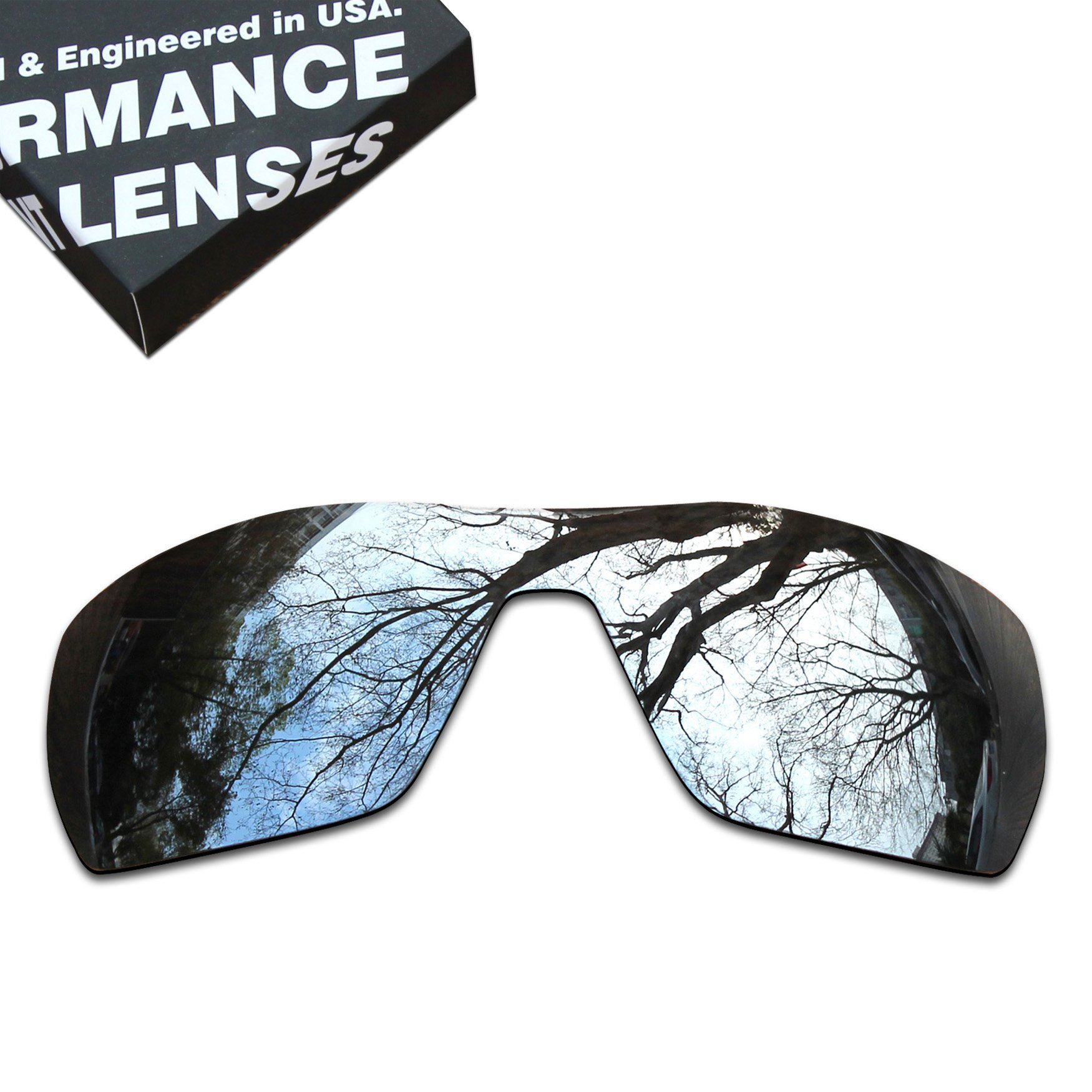 ToughAsNails Polarized Lens Replacement for Oakley Offshoot Sunglass - More Options by ToughAsNails