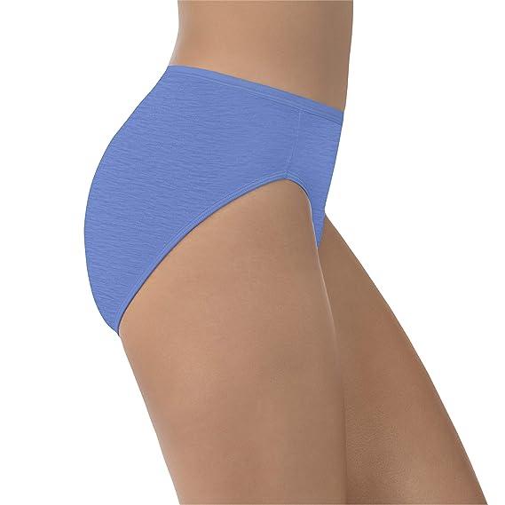 940e755528c9 Vanity Fair Women's Illumination Hi Cut Panty 13108 at Amazon Women's  Clothing store: