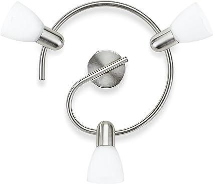 Image ofPhilips Lighting myLiving Lámpara de Techo E14, 3 Bombillas, iluminación interior, gris
