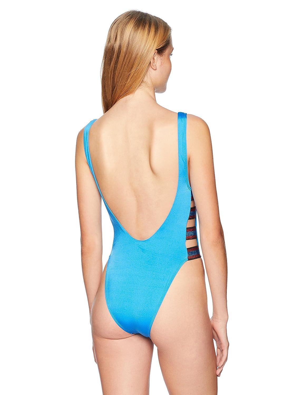 Bikini Lab Womens Side Strappy One Piece Swimsuit