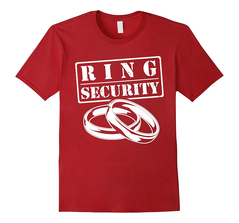 Ring Security T-Shirt - Wedding Ring Design Boys Shirt-ANZ - Anztshirt