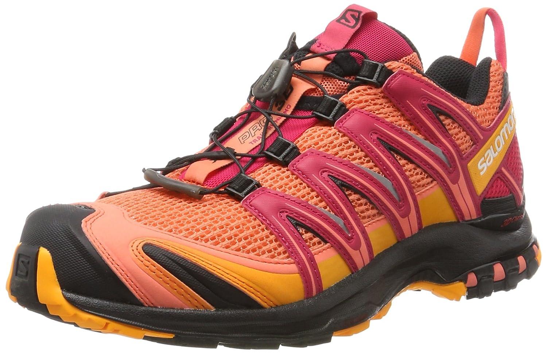 Salomon Women's XA Pro 3D W Trail Running Shoe B01N12FTC7 10.5 B(M) US|Living Coral/Black Virtual