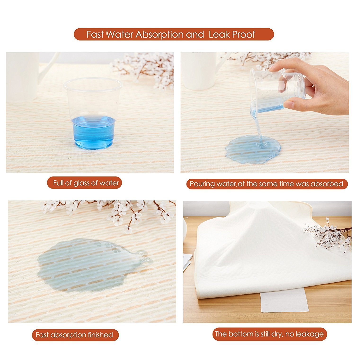 Incontinence Mattress Protector for Baby Toddlers Children Adults Washable Waterproof Bed Pad Waterproof Sheet