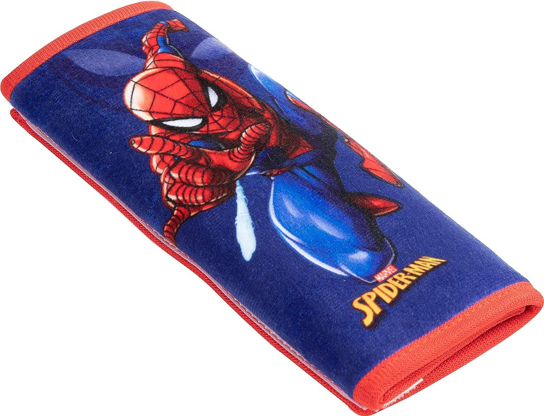 Spiderman Superhelden Auto Gurtschlaufe f/ür Einzelbett Spiderman weich Gurtpolster f/ür Sicherheitsgurte