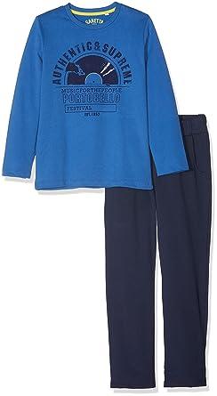 Sanetta Jungen Zweiteiliger Schlafanzug Pyjama Long