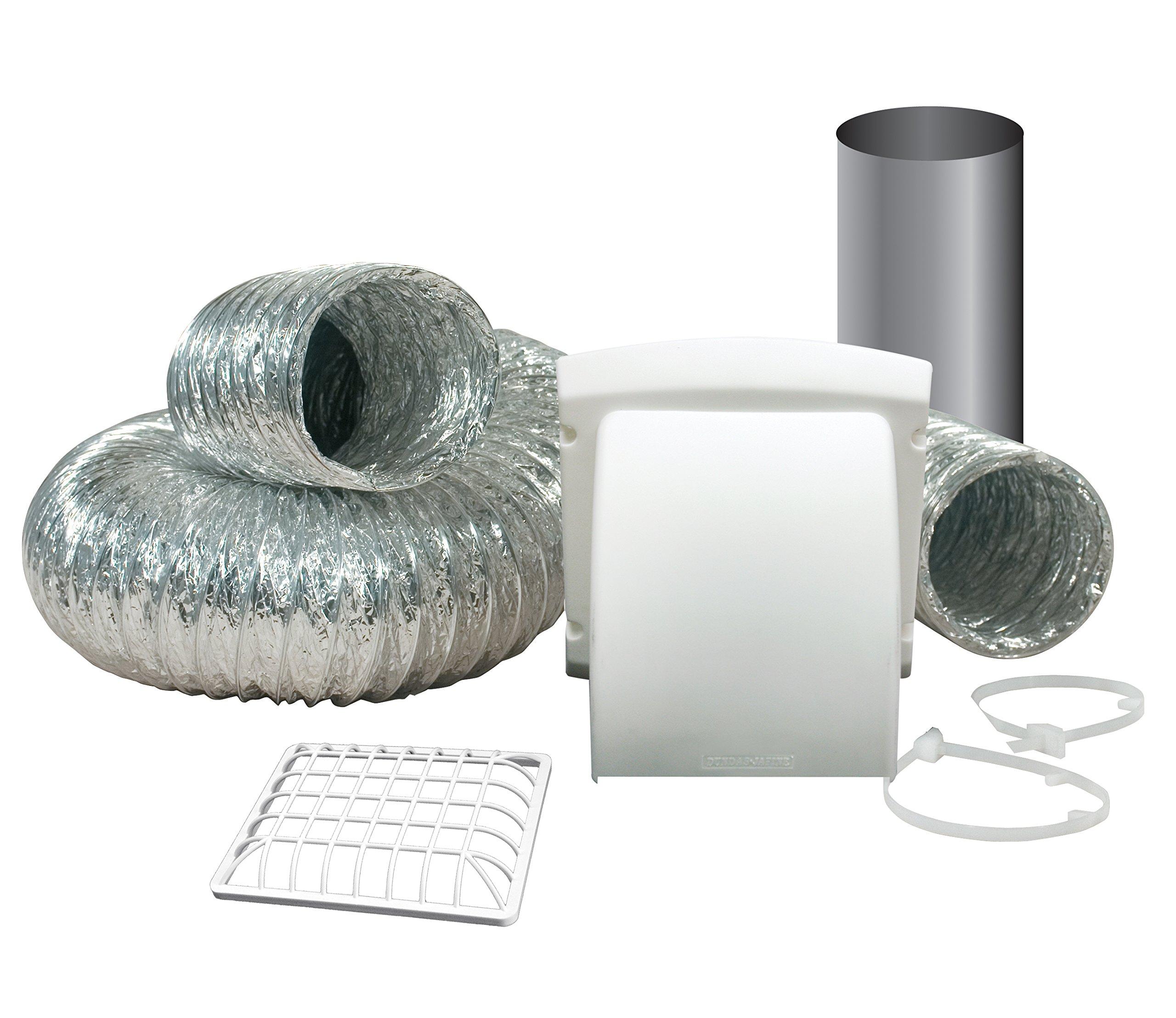 Dundas Jafine TD48PMKZW6 ProMax Dryer Vent Kit, White