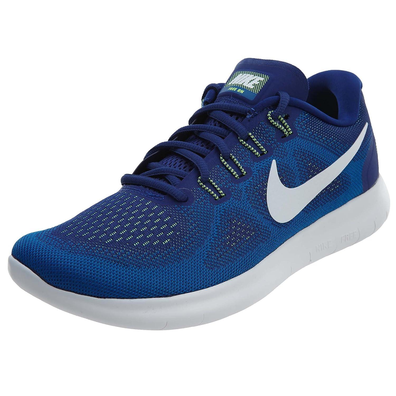 Nike Free Run 2017, Zapatillas de Entrenamiento para Hombre 8|Deep Royal Blue/White-soar