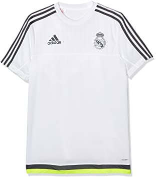 Adidas Real Madrid Training Camiseta, Niños: Amazon.es: Zapatos y complementos