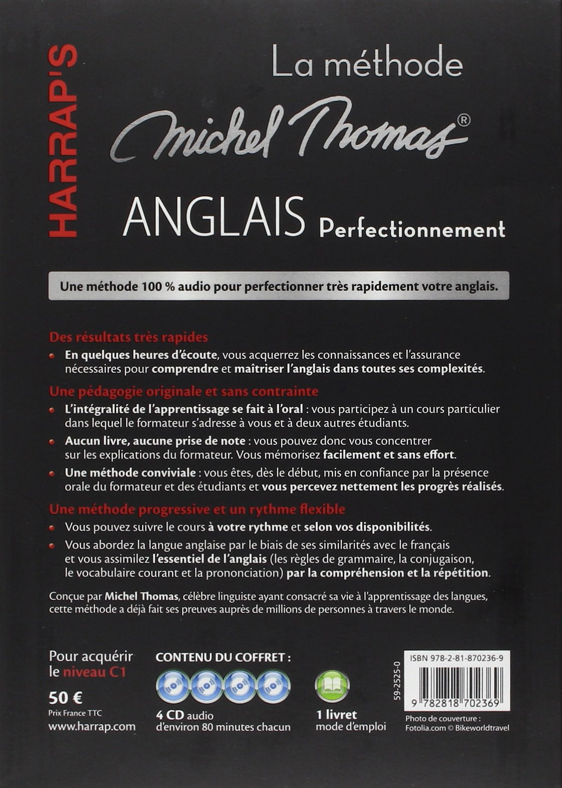 harraps anglais perfectionnement