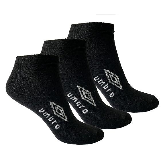 37807b9a44 Umbro - Socken für Herren und Damen I Unisex Knöchelsocken I Kurze Sneaker  Socken I 3er